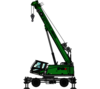 SENNEBOGEN 643 E Mobile pictogram: telescopic crane / telecrane for construction sites and as an alternative to a revolving tower crane