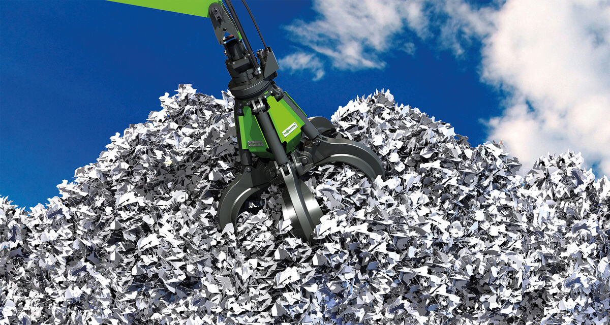 SENNEBOGEN grab suspension for material handlers