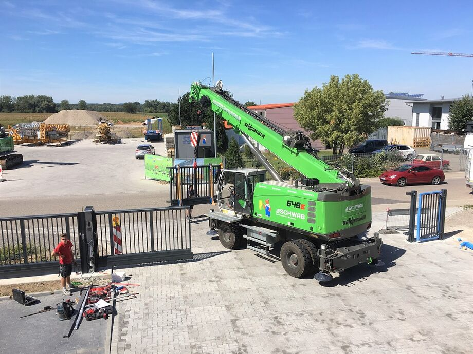 SENNEBOGEN compact 643 E Telecrane / Telescopic crane for construction sites