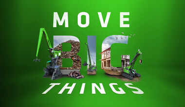 SENNEBOGEN Move Big Things logo