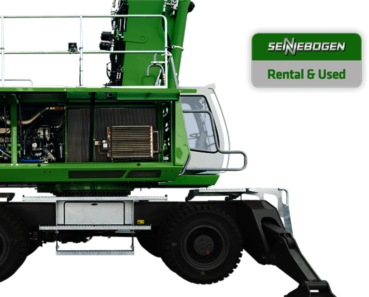 SENNEBOGEN Rental used Rental machines Rent