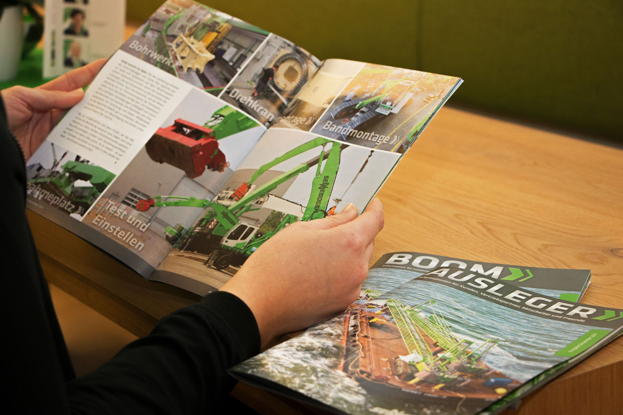 SENNEBOGEN customer magazine BOOM